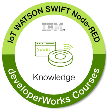 Robots are coming! Build IoT apps with IBM Watson, Swift, and Node-RED