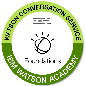 Watson Conversation Service Foundations
